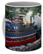 Old Train In The Village - Paranapiacaba Coffee Mug