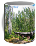 Old Tramway In Canyon City  Miles Canyon Trail Near Whitehorse-yk Coffee Mug