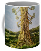 Old Tree In Spring Light Coffee Mug