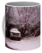 Old Truck In The Snow Coffee Mug