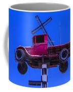 Old Truck With Cross Coffee Mug