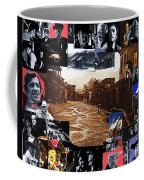 Old Tucson Arizona Composite Of Artists Performing There 1967-2012 Coffee Mug