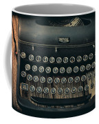 Old Typewriter With Letter Coffee Mug