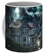 Old Victorian House Coffee Mug by Mo T