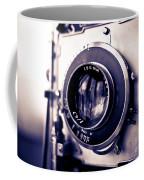 Old Vintage Press Camera  Coffee Mug