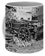 Old Wagon And Cooler Coffee Mug