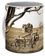 Old Wagon And Homestead Coffee Mug
