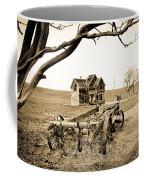 Old Wagon And Homestead II Coffee Mug