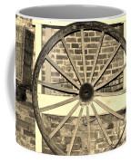 Old Wagon Wheel 1 Coffee Mug