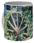 Old Wagon Wheel Coffee Mug