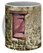 Old Wall And Door Coffee Mug