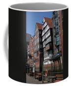 Old Warehouses Port Of Hamburg  Coffee Mug