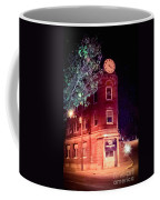 Old Wedge Bank  Building  Haunted Alton Ill Coffee Mug