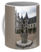 Old Well And Courtyard Chateau Chaumont Coffee Mug