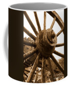 Old Wheel  Coffee Mug