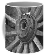 Old Wheel Coffee Mug