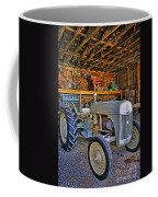 Old White Ford Tractor Coffee Mug