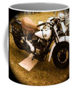 Old White Motorcycle Coffee Mug
