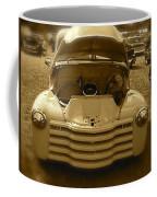 Old White Pickup Truck Coffee Mug
