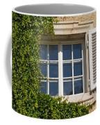 Old Window With Creeper. Coffee Mug
