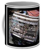 Old Wooden Lobster Pot Coffee Mug