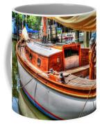 Old Wooden Sailboat Coffee Mug