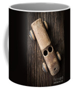Old Wooden Vintage Toy Car Coffee Mug