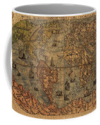 Old World Map Coffee Mug by Dan Sproul
