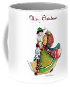 Old World Santa Christmas Art Original Painting By Megan Duncanson Coffee Mug