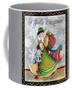 Old World Santa Clause Christmas Art Original Painting By Megan Duncanson Coffee Mug