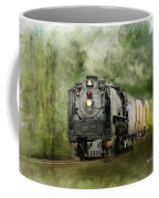 Old World Steam Engine Coffee Mug
