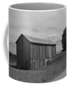 Olde Homestead - Olde Barn - Black And White Coffee Mug