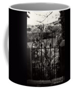Olde Victorian Gate Leading To A Secret Garden - Peak District - England Coffee Mug