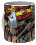 Older Roller Skate And Toys Coffee Mug