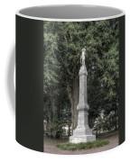 Ole Miss Confederate Statue Coffee Mug