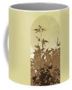 Olive And Brown Haiku Coffee Mug