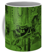 Olive Green Horse Coffee Mug