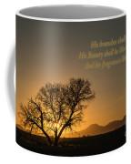 The Fragrance Like Lebanon. Coffee Mug