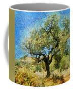 Olive Tree On Van Gogh Manner Coffee Mug