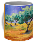 Olive Trees Grove Coffee Mug