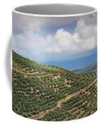 Olive Trees In A Field, Ubeda, Jaen Coffee Mug