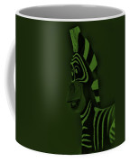 Olive Zebra Coffee Mug