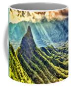 Olomana And The Koolau Range Coffee Mug