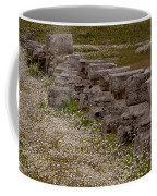 Olympia Ruins And Wild Flowers   #9678 Coffee Mug