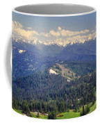 Olympic National Park Landscape Coffee Mug