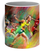 Olympics 100 Metres Hurdles Sally Pearson Coffee Mug