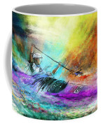Olympics Canoe Slalom 03 Coffee Mug