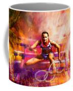 Olympics Heptathlon Hurdles 02 Coffee Mug