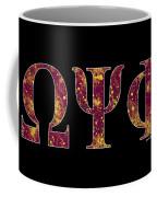 Omega Psi Phi - Black Coffee Mug