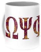 Omega Psi Phi - White Coffee Mug